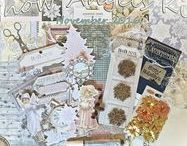 2016 Kits: Scraps of Darkness & Scraps of Elegance / These are our mixed media and scrapbooking kits for Scraps of Darkness and Scraps of Elegance, 2016.