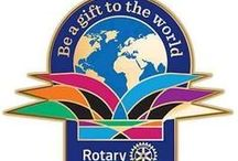 "Around the World via Rotary International / ""Rotarians worldwide are united by the heart to serve. We are changing lives."""