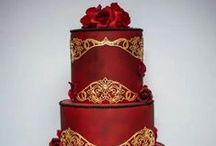 Cakes: Opulent / Opulent over the top wedding cakes.  #wedding #cake #weddingcake #opulentwedding #opulentcake #opulentweddingcake #luxurywedding #luxurycake #luxuryweddingcake #platinumwedding #platinumcake #platinumweddingcake #couturewedding #couturecake #coutureweddingcake