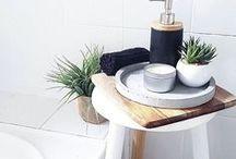 Home Staging - Bath Ideas / Bath Decor | Bathroom Decorating | Bathroom Storage | Bath Ideas | Bathroom Upgrades