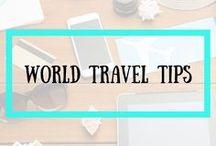 WORLD TRAVEL TIPS