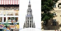 Vienna, Austria / Our top pins on what to do, see and eat in Vienna, Austria - the city where our start-up was founded!