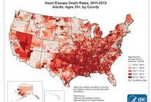 Heart Disease / Heart Disease - Infographic