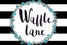 Waffle Lane! / All of my designs are not available in stores! They are inspired by my daughter, motherhood, parenting, funny and unique life moments and more!  I am a small shop and love supporting other small shop mamas!