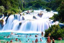 Niagara, Victoria, Krka, Plitvice falls mm