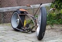 Bikes a serem montadas e Ambientes