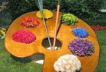 In the Garden / by Pat Evans Designs