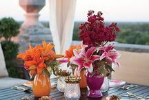 Party Ideas / From a simple get-together to an elaborate dinner party- flowers make it all look great