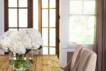 Home Floral Decor / Flower arrangements for the home and home decor floral ideas