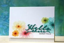 Handmade Cards Ideas I Love / Cardmaking, Stamping, Die Cutting, Paper Crafting