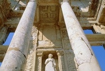 Ephesus / Ephesus Turkey. The Ancient Ephesus City Ruins near Kusadasi Turkey.