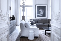 White Interiors / by WallCandy® Arts
