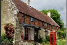 England: Cottages, Manors and Halls / by Jen