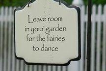 .i do believe in fairies, I do / Inspirações do vale encantado das fadas.