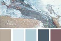 DESIGN • Color Palettes / Color Combinations