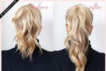☆ Des idées de coiffures ☆ / Pour cheveux longs comme courts ou mi-longs, faites le plein d'idées de coiffures pour être Belle Belle Belle comme le jour :) (ou a nuit ^^) / by Nathalie DAOUT - Formatrice