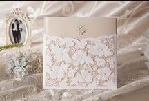 """❦ Mariage : faire part ❦ / Rose ou jaune ? Quel format ? En tissu ou en papier ? Bref, choisir le style de ses """"faire-part"""" de mariage est bien souvent un vrai casse tête. Voici donc quelques idées et inspirations. Enjoy ! / by Nathalie DAOUT - Formatrice"""