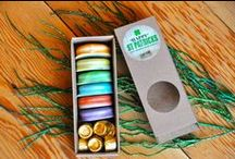 Holiday Macarons / Every month we have new flavors...and on special holidays of course!