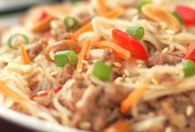 Asian-Inspired Recipes / Chinese Food, Thai Food, Japanese Food, Indian Food,