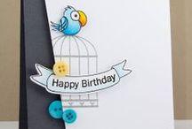 Cards - Birthday / Handmade Birthday Cards in various styles