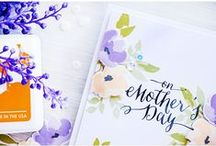 Cards - Mother's Day / Handmade Mother's Day Cards in various styles