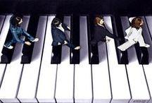 Arte - Abbey Road / Releituras da famosa capa do álbum Abbey Road, dos Beatles