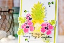 Cards - Summer & Ice Cream / Inspiring cards featuring Summer, Ice Cream and all things sunny!