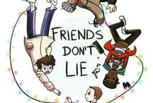 "Stranger Things / ""Friends don't lie"""
