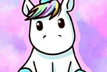 "Unicorns / ""Be a unicorn in a field of horses"""
