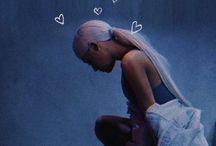 "Ariana Grande / ""Ain't got no tears left to cry"""