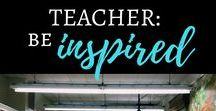 The Faith-Filled Teacher / Being a teacher is hard, y'all! My goal is to inspire and encourage all the teachers out there because you are in a Mission Field, friend. You are NEEDED, you are LOVED, and you are EQUIPPED! Stay strong!