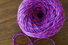DIY and Crafts / DIY crafts using Colourful Cotton Twisted cord