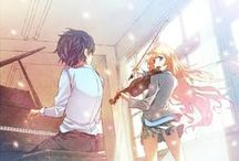 your lie in april!!! / anime