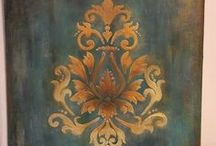 декорирование ДЕКУПАЖ покраска / # home decor
