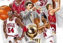 NBA teams cartoon