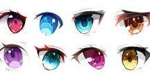 눈, eye, 目 / 눈, 표정