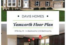 Tamworth Floor Plan | Estates Collection | Davis Homes