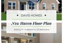 New Haven Floor Plan | Estates Collection | Davis Homes