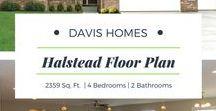 Halstead Floor Plan | Legacy Collection | Davis Homes