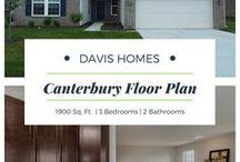Canterbury Floor Plan | Legacy Collection | Davis Homes