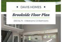 Brookside Floor Plan | Legacy Collection | Davis Homes