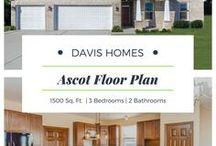 Ascot Floor Plan | Legacy Collection | Davis Homes