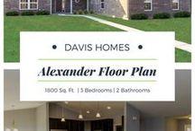 Alexander Floor Plan | Legacy Collection | Davis Homes