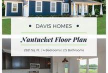 Nantucket Floor Plan | Estates Collection | Davis Homes