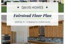 Fairstead Floor Plan | Estates Collection | Davis Homes