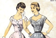 Vintage patterns / virtual vintage pattern collecting