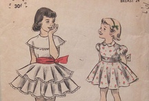 vintage patterns: for girls