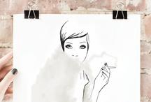 wall art / make it lovely
