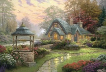 Cottage Charm / Although, I have always lived in the city, theirs a little bit of country inside of me. Pinterest makes it dreamy! / by Paulina Ottow