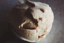 Ice cream, Sorbet and Granita's
